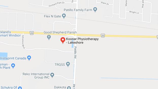Lakeshore location image